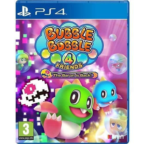 Bubble Bobble 4 Friends The Baron Is Back PS4 Game